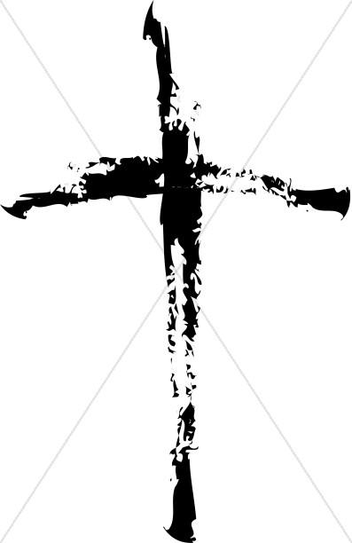 Distorted Black Cross.
