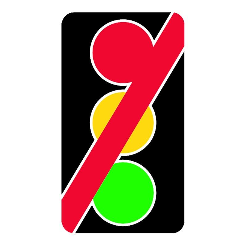Accident takes out traffic light near Escanaba.