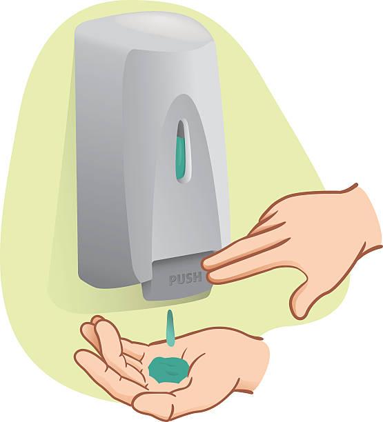 Best Soap Dispenser Illustrations, Royalty.