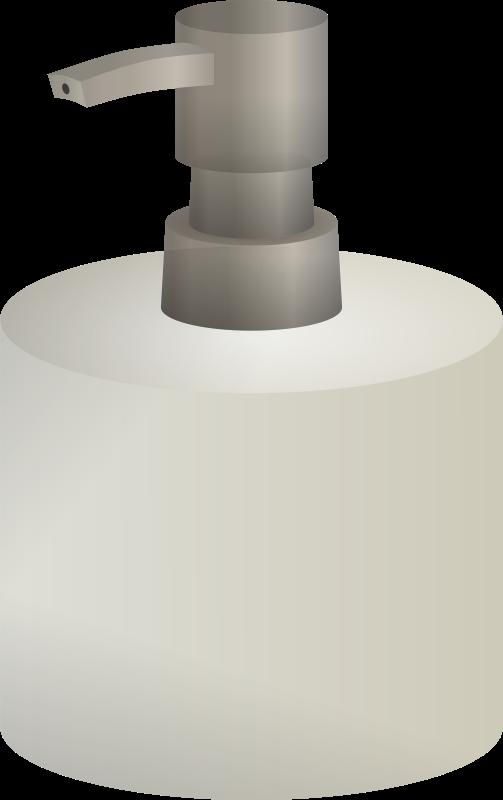 Free Clipart: Soap Dispenser.