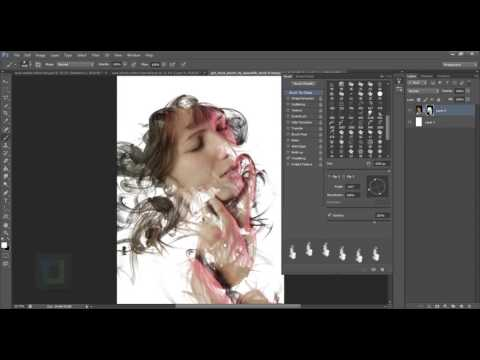 Dispersion Effect Photoshop Tutorial.