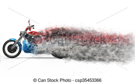 Stock Illustration of Bike.
