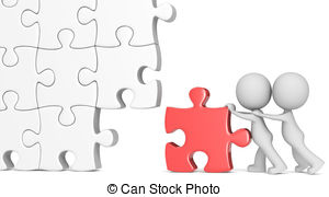 Two displaced red puzzle pieces Illustrations and Clipart. 3 Two.