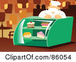 Food display clipart.
