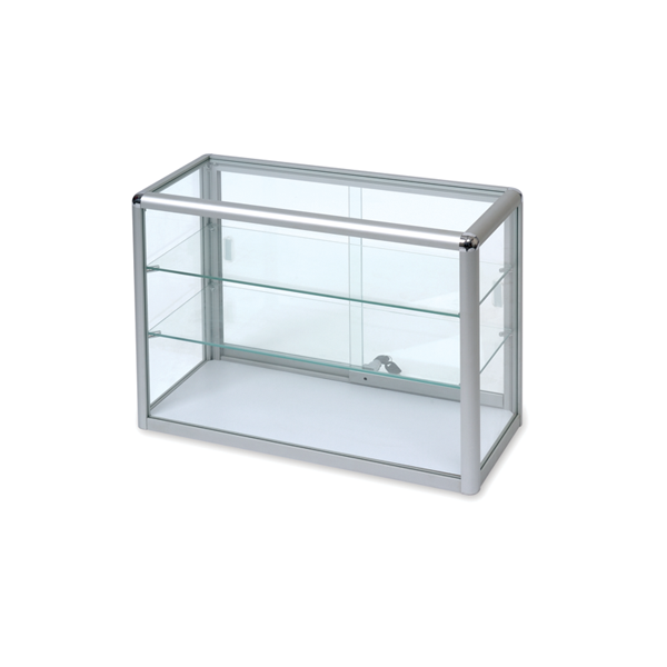 Counter Top Glass Display Case.