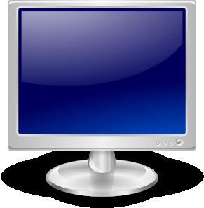 Lcd Monitor clip art Free Vector / 4Vector.