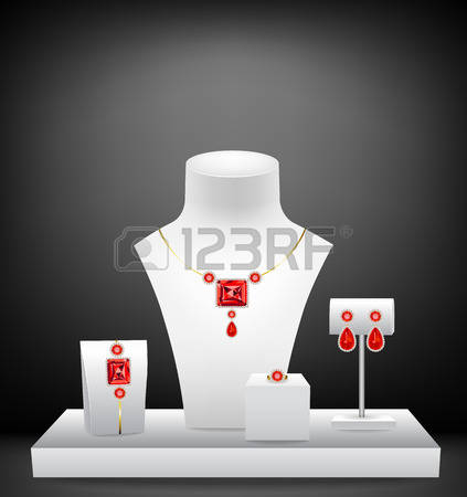 431 Jewelry Display Stock Vector Illustration And Royalty Free.