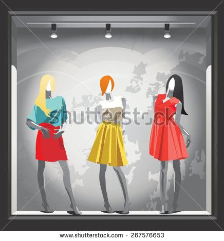 Mannequins Stock Photos, Royalty.