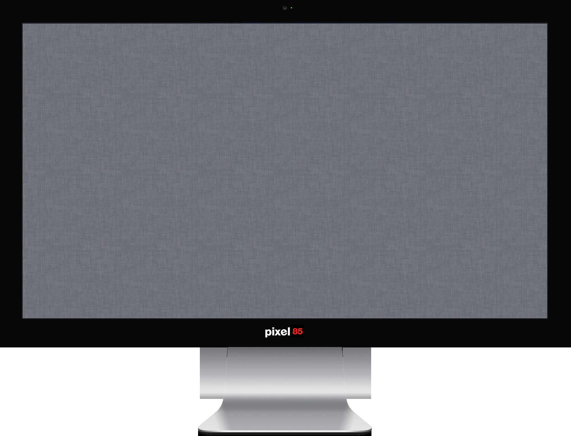 Monitor PNG Image.