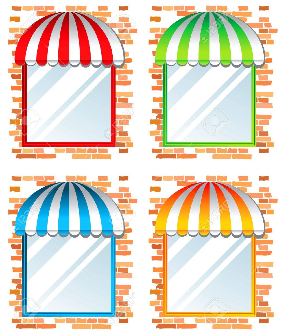 Kitchen Window Clip Art: Window Color Clipart 20 Free Cliparts