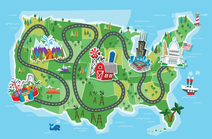 Clipart Road Map Map Clip Road Maps Displays Roads Road Trips.