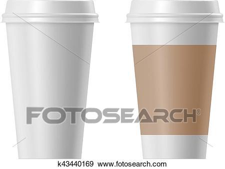 Paper coffee cup Clip Art.