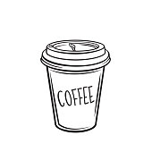 Free Disposable Coffee Cup Clipart and Vector Graphics.