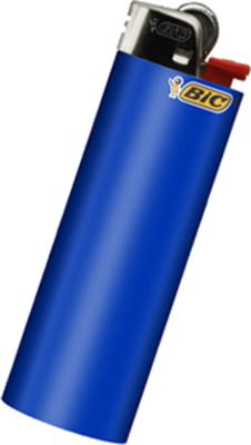 Bic Lighter PSD, vector image.