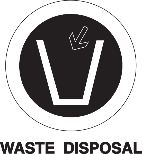 Do Not Waste Clipart.