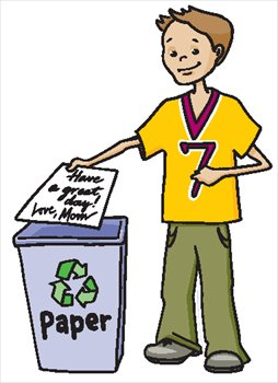 Computer Disposal Clip Art.
