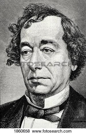 Pictures of Benjamin Disraeli 1804 To 1881 1St Earl Of.