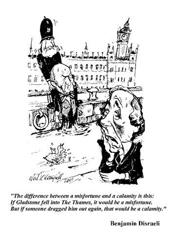 Favourite Political Cartoons #2: Disraeli and Gladstone.