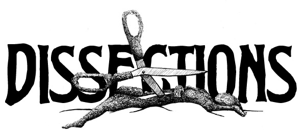 Dissection tools clipart.