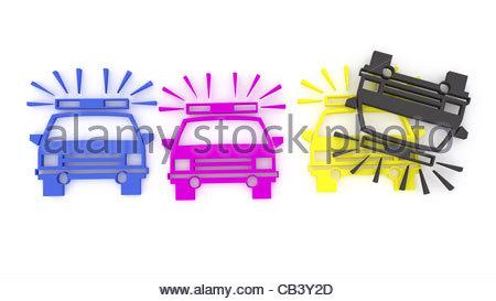 Toys, Toy Cars, Police Car, Porsche, Distance Control, Japan.