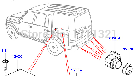 Aliexpress.com : Buy LR011602 new auto sensor of Parking distance.