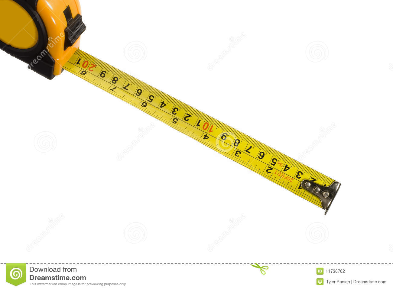 Measuring Tape 2 Stock Photography.