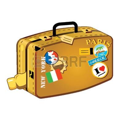 Travel Suitcase Clip Art 922185 Travel Suitcase For Long Distances.