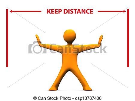 Distances clipart.