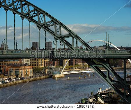 Newcastle Upon Tyne Stock Photos, Royalty.