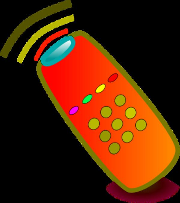 Clip Art Tv Remote Clipart.