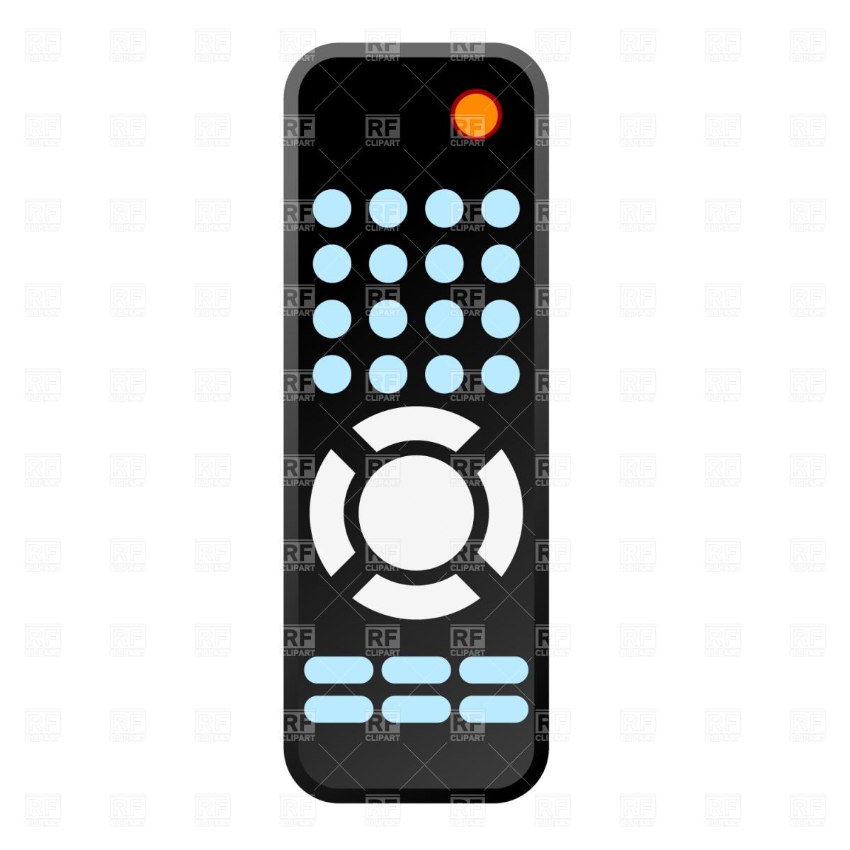 Remote Control Vector Image #1087.