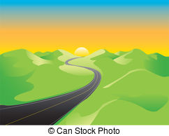 Hill distant Clipart Vector and Illustration. 58 Hill distant clip.