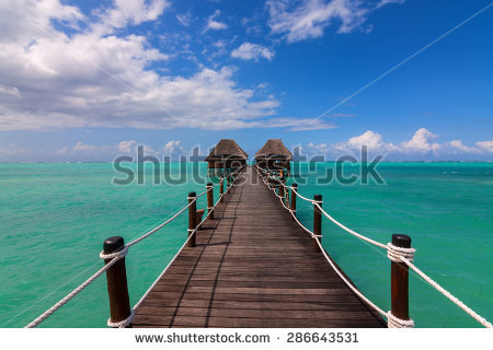 Jetty Leads That To Stock Photos, Royalty.