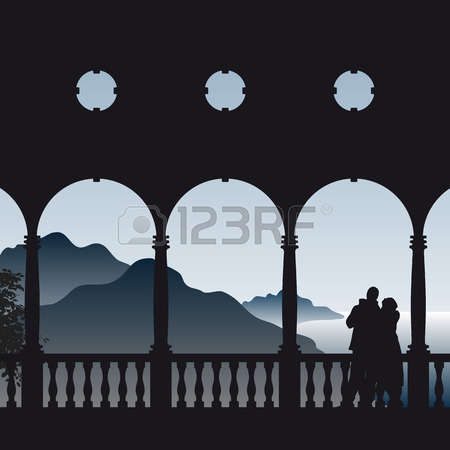 1,320 Distant View Stock Vector Illustration And Royalty Free.