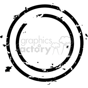 grunge weathered distressed circle vector art clipart. Royalty.