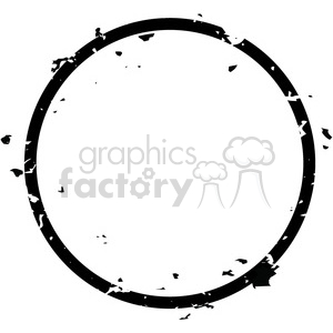 grunge weathered distressed round vector art clipart. Royalty.