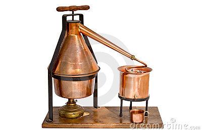 Home Distillation Equipment Royalty Free Stock Photos.