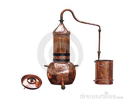 Alcohol Distillery Stock Photos.
