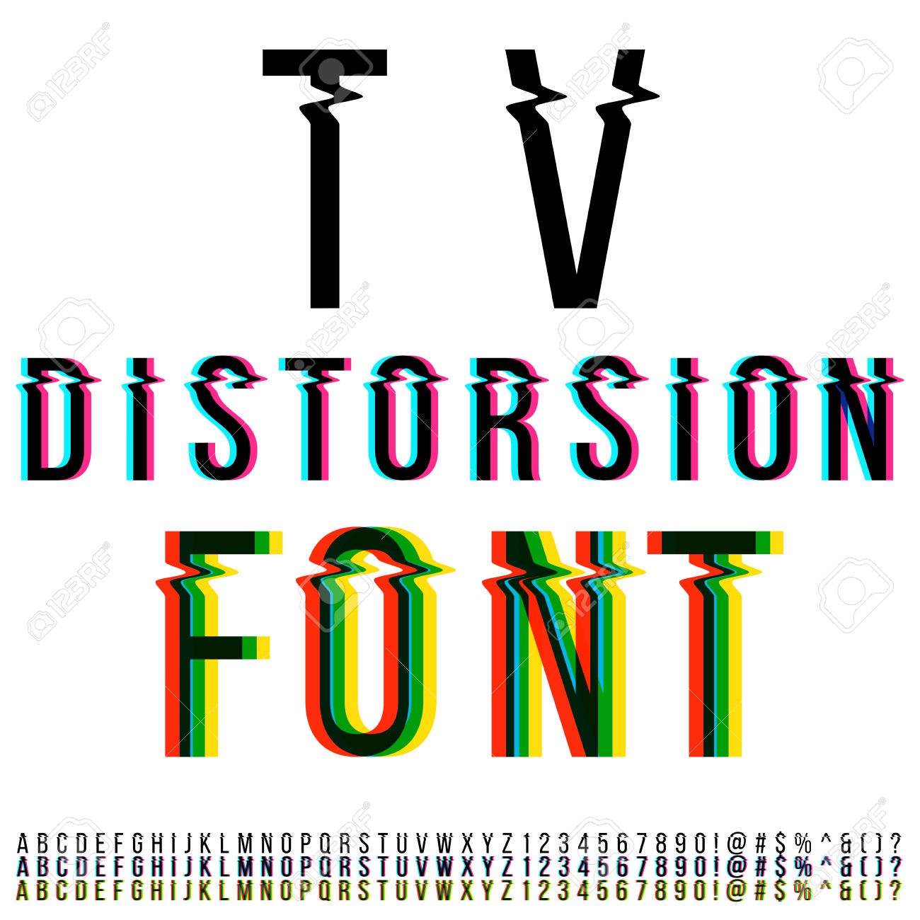 Distortion clipart.