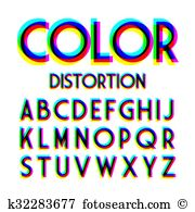 Tv distortion Clip Art Vector Graphics. 74 tv distortion EPS.