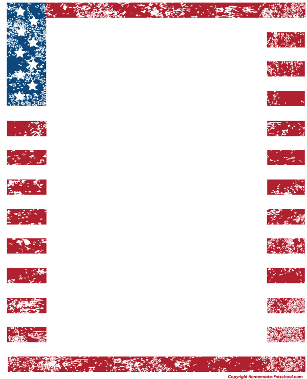 flag clipart boarder clipground