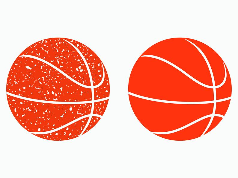 Distressed Basketball SVG / Grunge Basketball svg / Commercial use / Cut  Files / Files for Cricut / Silhouette / Dxf / Vector.