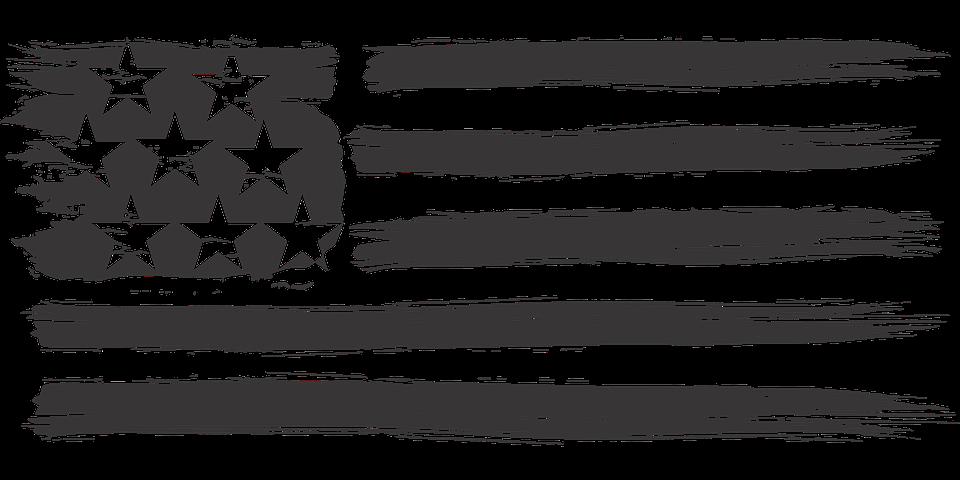 Usa Flag Distressed Stars And.
