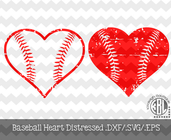 The Baseball Distressed Heart files are for use with programs such.