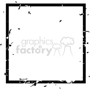 grunge weathered distressed square vector art clipart. Royalty.