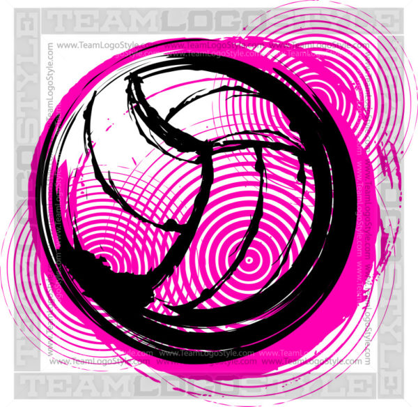 Volleyball Vector Art.