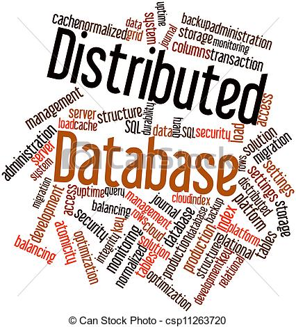 Distributed database Stock Illustration Images. 344 Distributed.