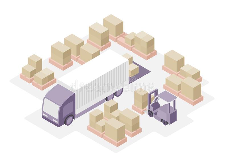 Warehouse clipart distribution centre.