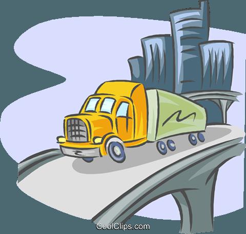 transportation, distribution Royalty Free Vector Clip Art.