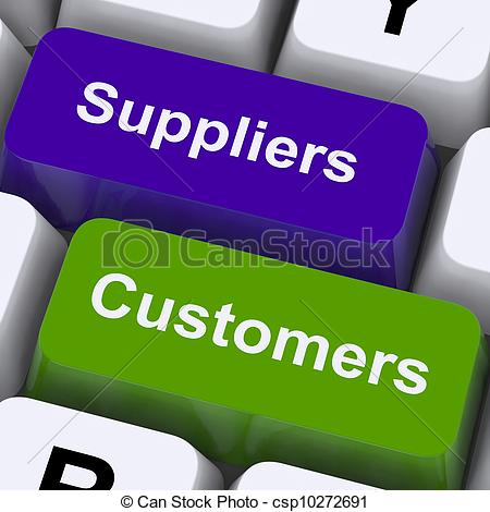 Supplier Distribution Clipart.